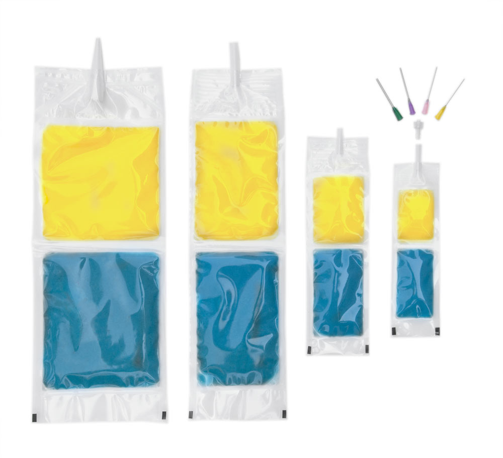 Burst Pouch Burst Bag Two Component Flexible Packaging